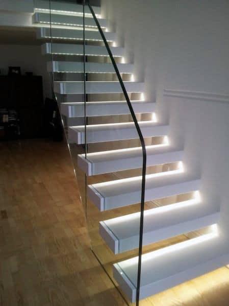 Tread Led Design Ideas For Staircase Lighting