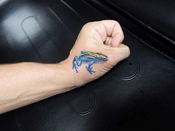 Tree Frog Guys Tattoo Ideas On Hand