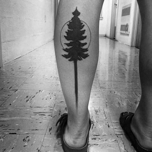 Tree Leg Themed Tattoo Ideas For Men