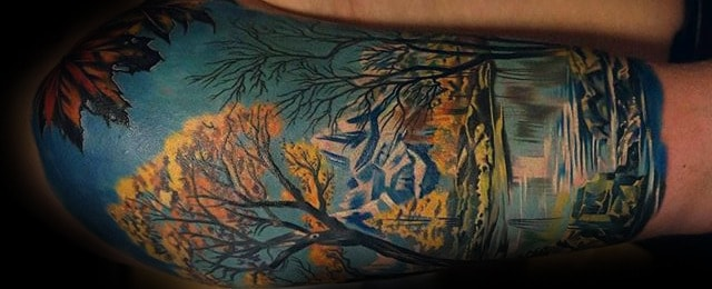 75 Tree Sleeve Tattoo Designs For Men – Ink Ideas With Branches