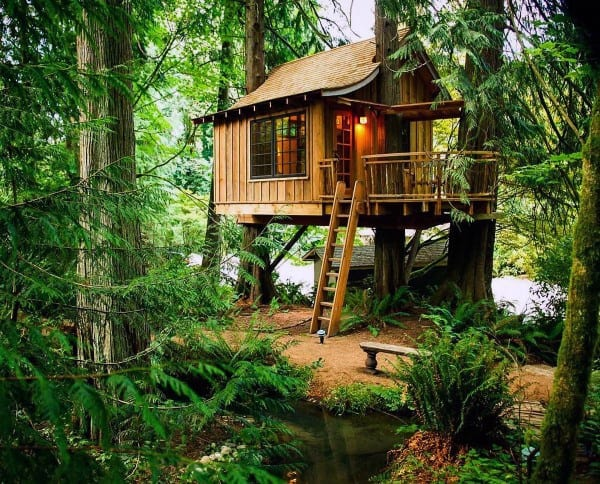 Treehouse Railing Ideas