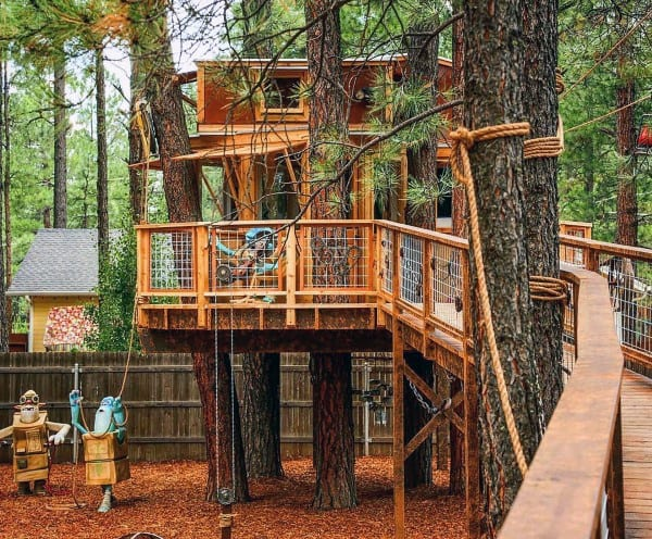 Treehouse Roof Ideas