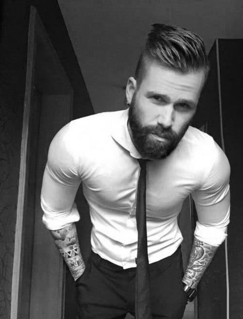 Trendy Classic Mens Hairstyle