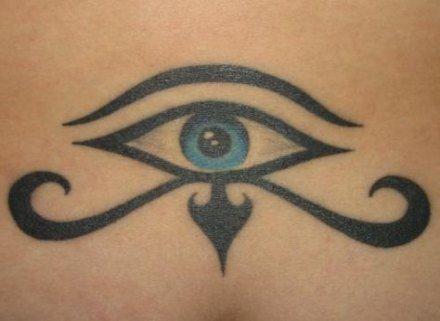 Trendy Eye Tattoo