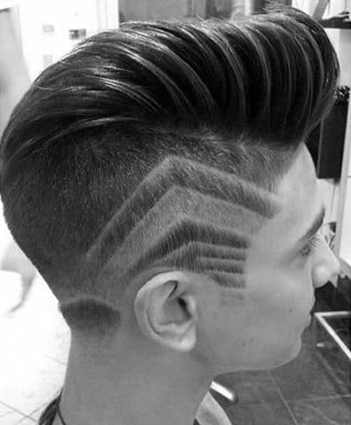 Trendy Hair For Men With Shaved In Sides Lines