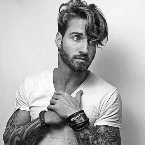 Trendy Hair Styles For Men Long