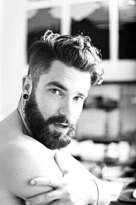 Medium Length Haircuts For Men Curly Hair 45