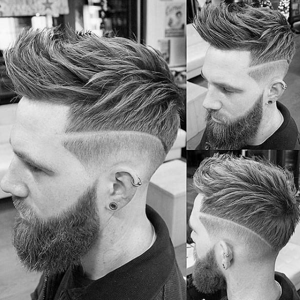 Trendy Mens Hairstyles Faux Hawk