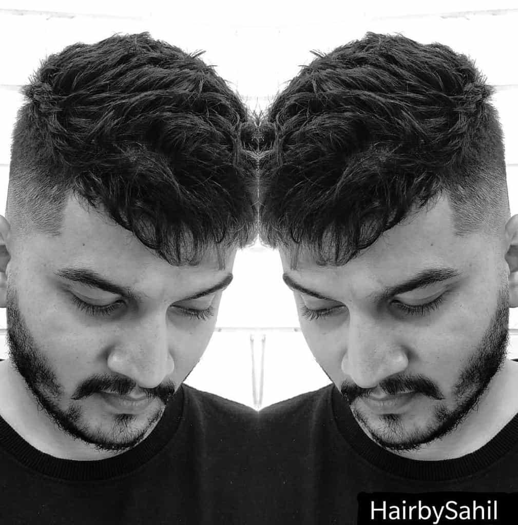Trendy Messy Haircut