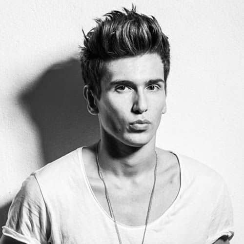 Trendy Quiff Haircuts For Guys