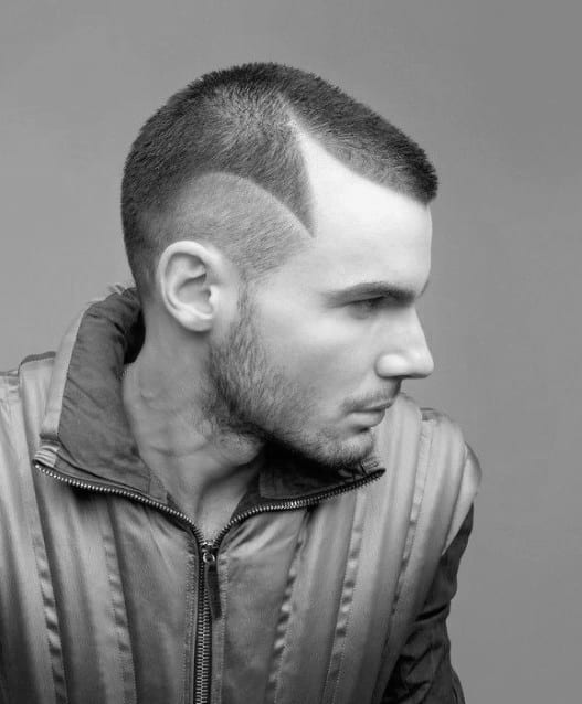 Trendy Short Hairstyles For Men Buzz Cut