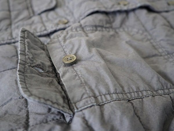 Trent Quilted Shirt Jacket Button Closure Chest Pocket
