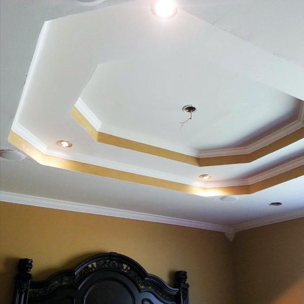 Trey Ceiling Design Idea Inspiration Bedroom