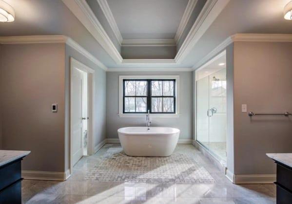 Trey Ceiling Design Ideas Master Bathroom