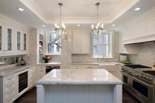 Trey Ceiling Kitchen Ideas