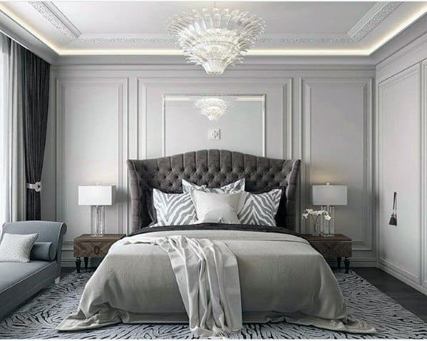 Trey Ceiling Led Bedroom Lighting Design Idea Inspiration