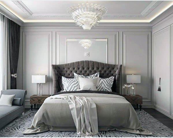 Trey Ceiling Led Bedroom Lighting Design Idea Inspiration