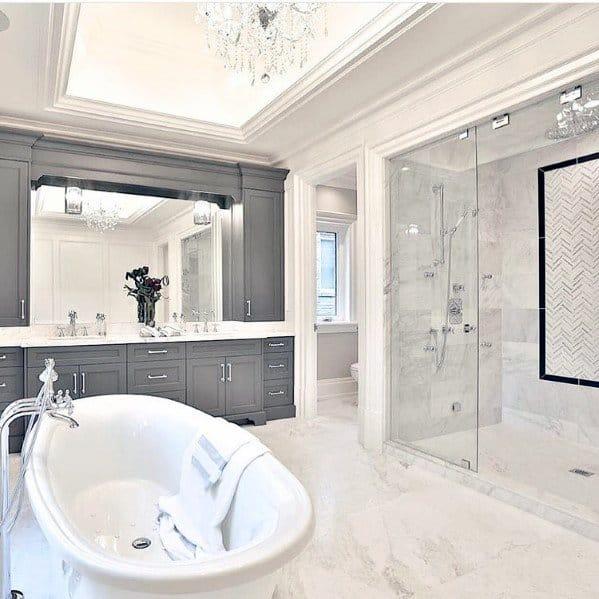 Trey Ceiling Led Interior Bathroom Lighting Design