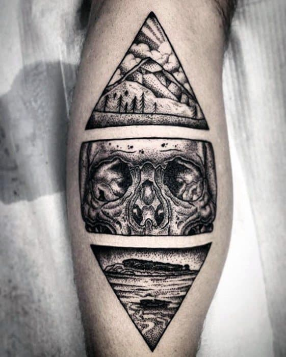 Tattoo Designs Unique: 50 Unique Skull Tattoos For Men