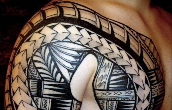 Tribal Art Tattoos For Men