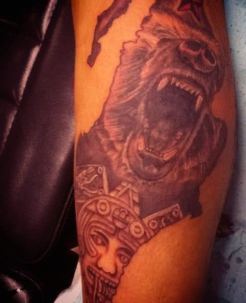 Tribal Aztec Tattoos For Men