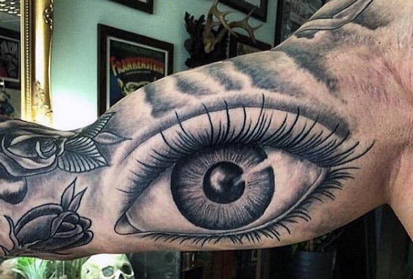 Tribal Bicep Tattoos For Men