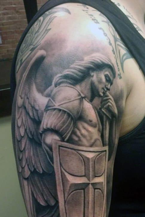 Tribal Cross Tattoos For Men