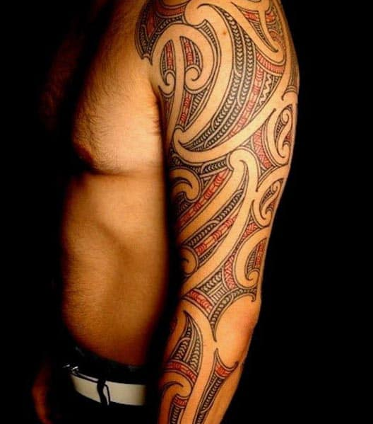 100 Maori Tattoo Designs For Men New Zealand Tribal Ink Ideas: Top 60 Best Tribal Tattoos For Men