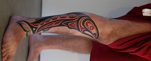 Tribal Fish Tattoo Designs For Men