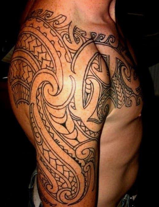 Tribal Forearm Tattoos For Men