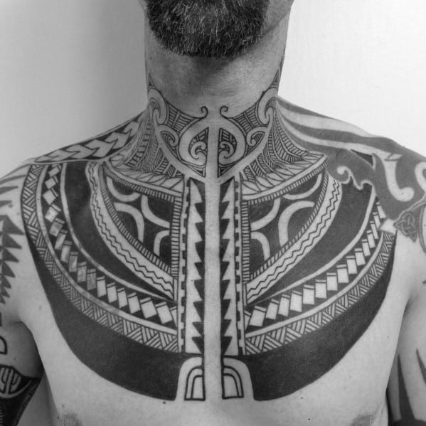 60 Tribal Leg Tattoos For Men – Cool Cultural Design Ideas pictures