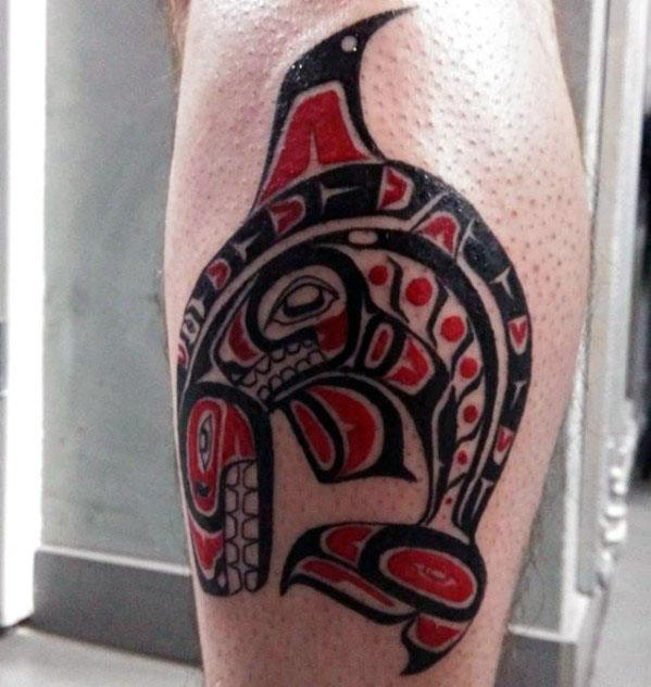 Tribal Guys Orca Tattoo Design Ideas