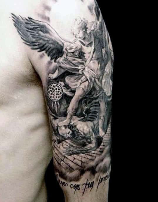 Cool Tribal Half Sleeve Tattoos For Men