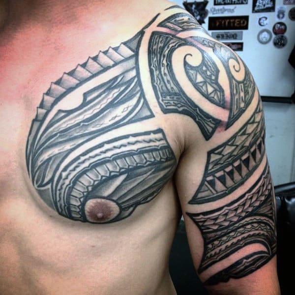 Tribal Hawaiian Tattoo For Men