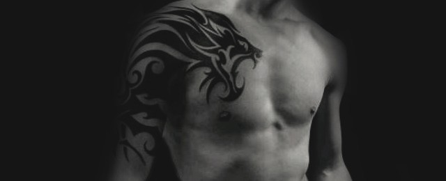 Tribal Lion Tattoo Designs For Men