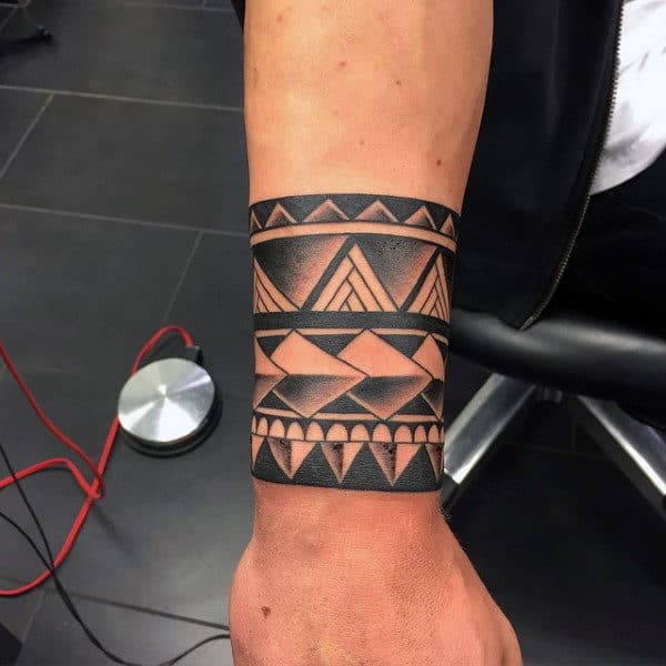 70 Armband Tattoo Designs For Men - Masculine Ink Ideas