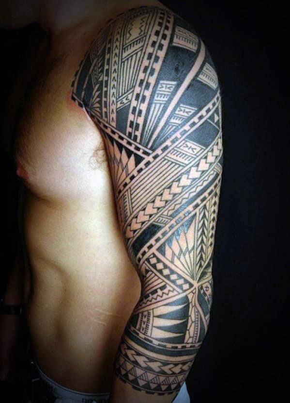 Tribal Men Tattoos
