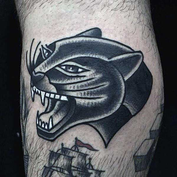 Tribal Panther Tattoo For Men