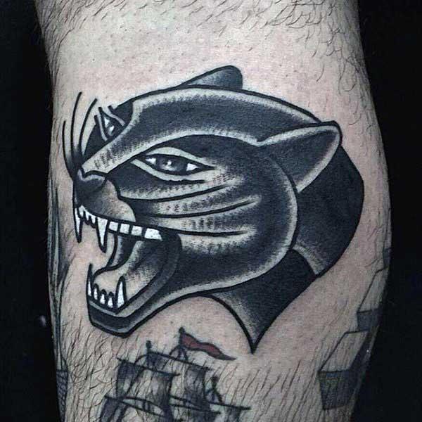 70 panther tattoo designs for men cool big jungle cats rh nextluxury com panther tribal tattoos pictures tribal panther tattoo designs