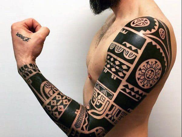 Tribal Polynesian Maori Hawaiian Tattoo Styles