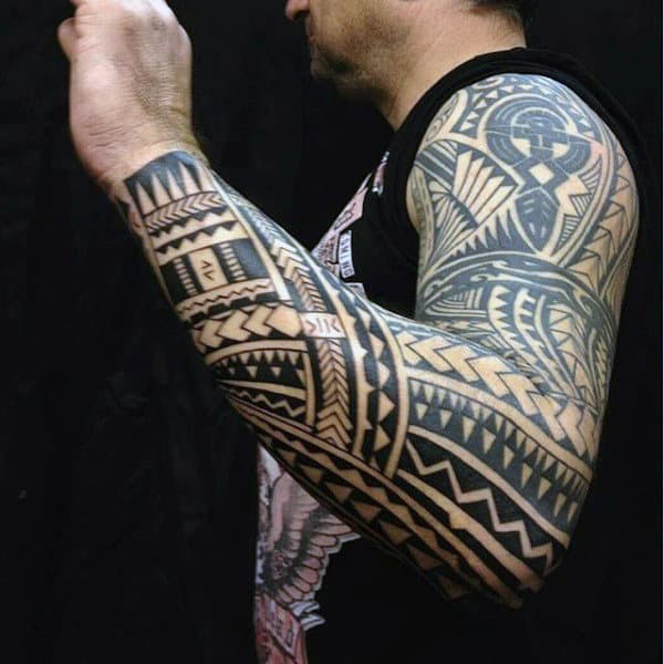 Tribal Sleeve Tattoo Ideas For Guys