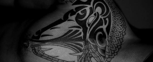 Tribal Snake Tattoo Designs For Men
