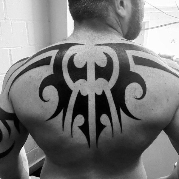 Tribal Tattoo Back For Guys