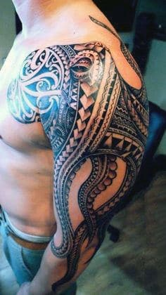 Top 60 Best Tribal Tattoos For Men - Symbols Of Courage