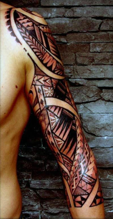 Tribal Tattoo Designs For Men