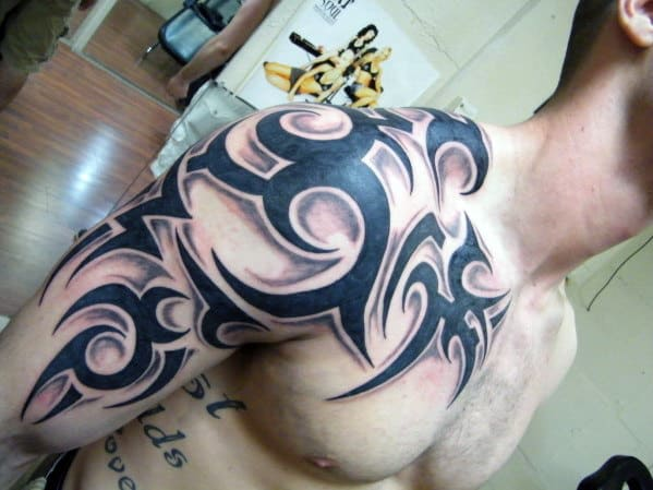 Tribal Tattoo Men