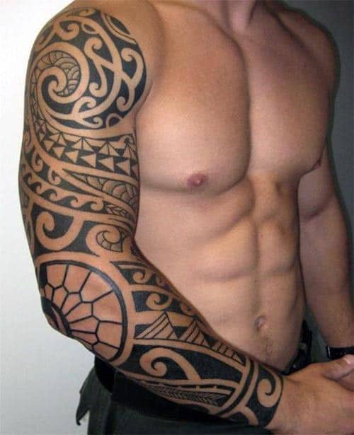 Tribal Tattoos For Men Meanings