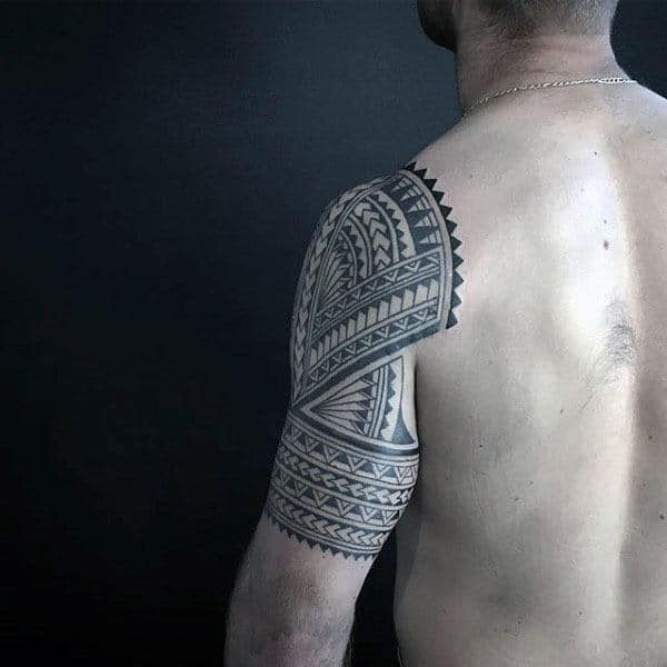 Tribal Tattoos For Men On Arm Polynesian Designs