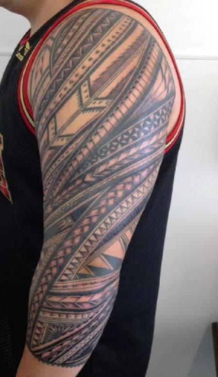 Tribal Tattoos For Men Shoulder And Arm