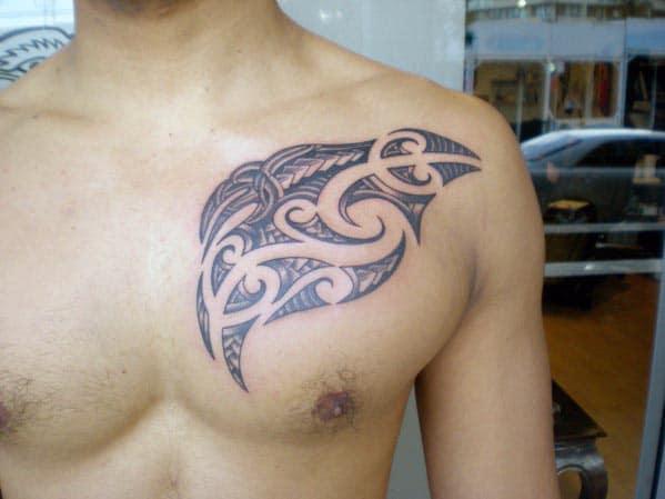 Tribal Tattoos For Men On Shoulder